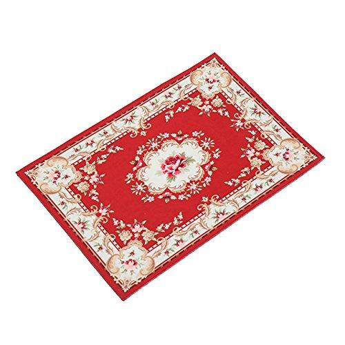 1 Set Vintage Doormat Carpet Rugs Bath Mat Toddler No Slip T