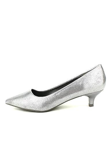nouveau concept 7afbe ecb5c Cendriyon, Escarpins Argentés MULANKA Chaussures Femme ...