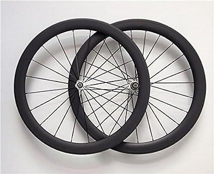 YouCan bicicleta 700C ruedas de bicicleta de carretera de carbono Tubular 50mm altura 20,5mm anchura 29er ruedas