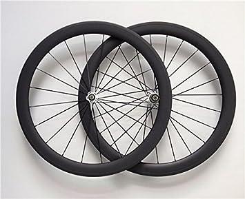 YouCan bicicleta 700 C ruedas de bicicleta de carretera de carbono Tubular 50 mm altura 20,5 mm anchura 29er ruedas: Amazon.es: Deportes y aire libre