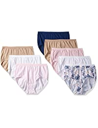 Just My Size womens plus-size Just My Size 8-pack Cotton Brief Panty