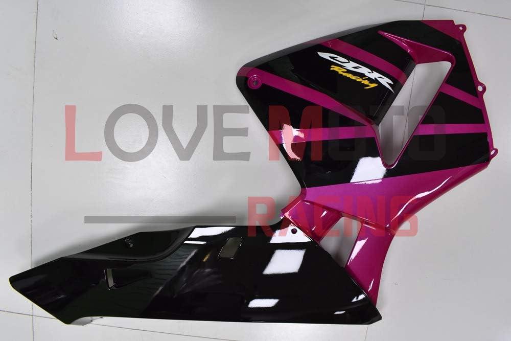 LoveMoto Fairings for honda CBR600RR F5 2003 2004 03 04 CBR600 RR F5 ABS Injection Mold Plastic Motorcycle Fairing Set Kits Pink Black