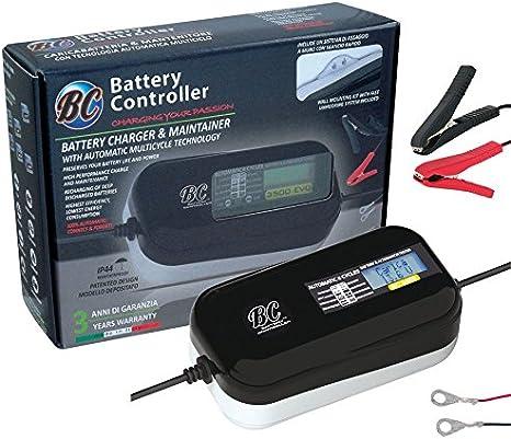 BATTERY CONTROLLER BC BRAVO 3500 EVo caricabatterie auto moto mantenimento