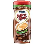 Nestle Coffee-Mate Coffee Creamer Sugar Free Creamy Chocolate, Pack of 1 (10.2 Ounce)