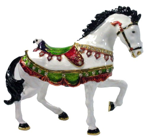 Horse Jeweled Box - 9