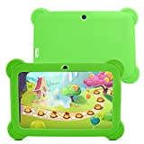 Yuntab 8GB Q88 7 inch Android Quad-core Tablet PC, 1024600, Allwinner A33 , Google Android 4.4 Tablet with Silicone Protective Cover Case (Green-Green)