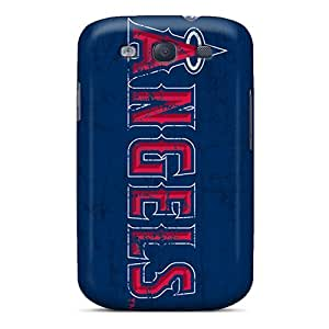 JohnPrimeauMaurice Samsung Galaxy S3 Scratch Protection Mobile Covers Allow Personal Design Vivid Los Angeles Angels Pictures [NNr3186BgoC]