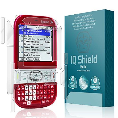 (IQ Shield Matte Full Coverage Anti-Glare Full Body Skin + Screen Protector for Palm Centro (690) Anti-Bubble Film)