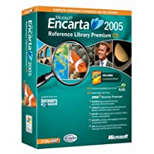 Microsoft Encarta Reference Library Premium 2005 CD