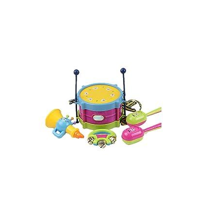 Amazon.com: Waist Drum Knocking Blow Toy Instruments Kit ...