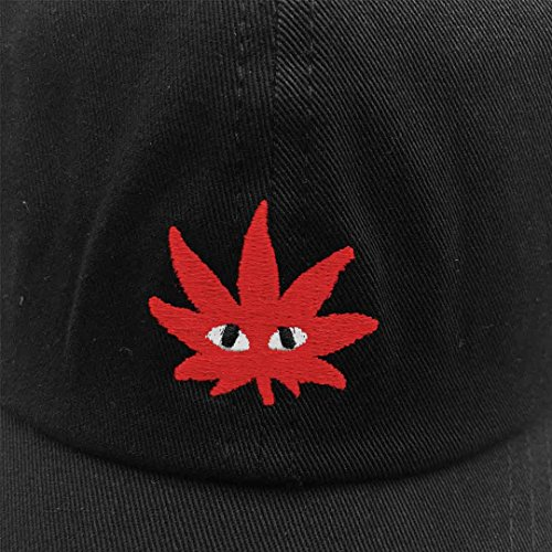 Hemp-leaves-Baseball-Cap-Embroidered-Dad-hats-Adjustable-Snapback-Cotton-Unisex