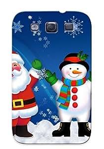 New Arrival Santa And Frosty JMXcPgb1213ewPle Case Cover/ S3 Galaxy Case by icecream design