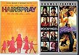 Footloose + Rock of Ages & Hairspray John Travolta Musical DVD Set Special Edition & Bonus Videos Shimmy Shake