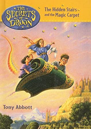 book cover of The Hidden Stairs and the Magic Carpet