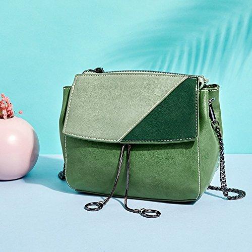 green Shoulder Bag 19 Female 17Cm Square OME 9 Spring Small Bag Shoulder amp;QIUMEI Summer Single Single Bag Bag Shoulder Shoulder BxHqE