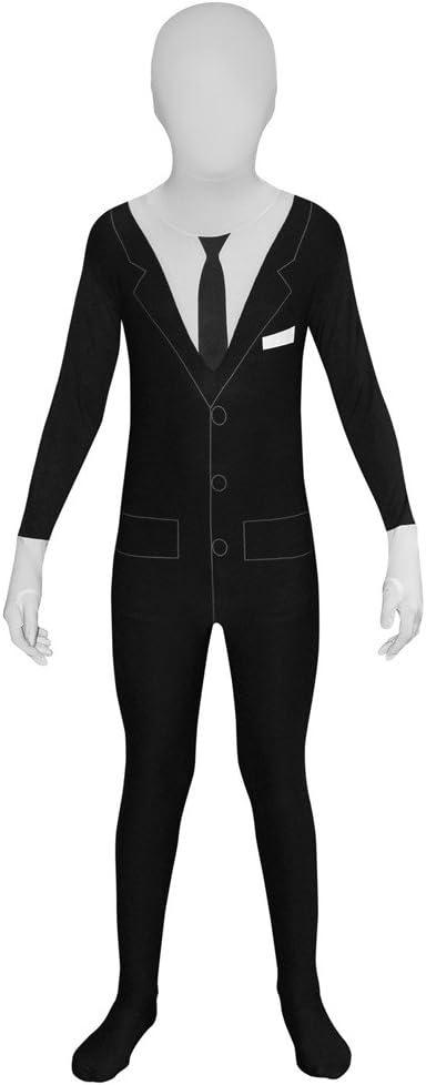 Morphsuits Slenderman Kids Monster Urban Legend Costume - Medium 3'6-3'11 / 8-10 Years (105cm - 119cm)