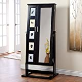 Belham Living Photo Frames Jewelry Armoire Cheval Mirror - High Gloss
