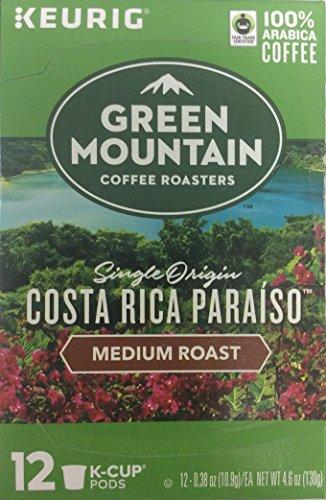 Paradise Costa Rica - GREEN MOUNTAIN Costa Rica Paraiso K Cup, 12 ct