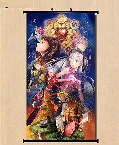 Home-Decor-Anime-The-Seven-Deadly-Sin-Wall-Scroll-Poster-Fabric-Painting-236315-inch-5