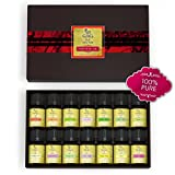 Essential Oils Pure Aromatherapy Therapeutic Grade by Naska - Premium Quality Gift Set of 14 Bottles 100% Pure Specially Designed for Diffusers and Humidifiers