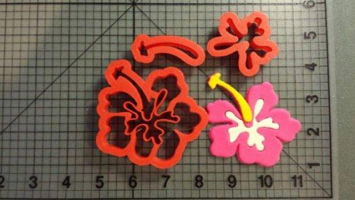 Hibiscus Flower Cookie Cutter Set