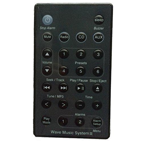 BOSE Remote Control - TOOGOO(R) New Remote (Black) For Bose Wave Radio/CD Music System AWRC-C1 AWRC-C2 AWRC-C3