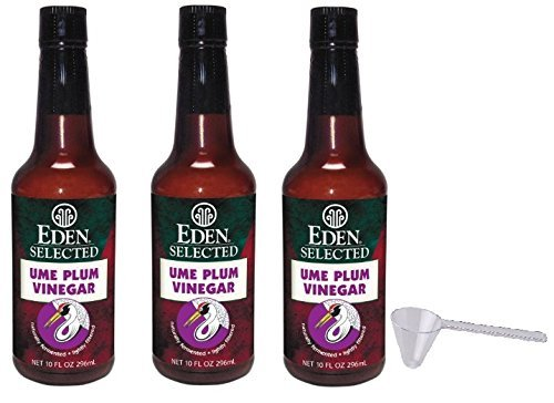 Eden Ume Plum Vinegar 3 Pack- 10 fl oz by Eden (Image #1)