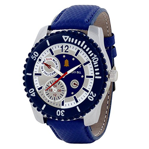 Golden Bell Original Chronograph Look Multicolour Dial Analog Wrist Watches for Men - GB-466