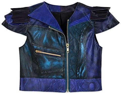 Details about  /Descendants 3 Mal Outfit Cosplay Costume Uniform Full Set Leather Suit