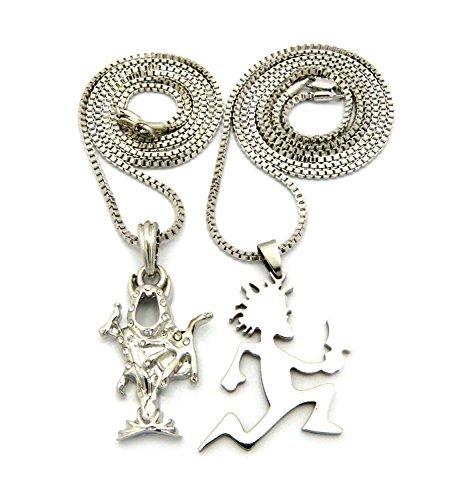 The wraith shangri la and hatchetman pendant set 24 30 box chain the wraith shangri la and hatchetman pendant set 24 30 box chain necklaces in silver aloadofball Gallery