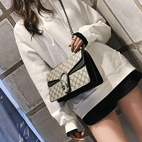 Fashion body Black Women Chain Bag Tote Bag Handbags Cross Girls Purse Ladies Shoulder Satchel wUXAdnfXq