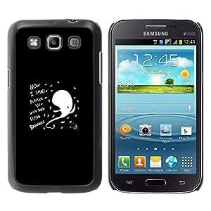 EJOY---Cubierta de la caja de protección la piel dura para el / Samsung Galaxy Win I8550 / --DIVERTIDO RESUMEN DE VUELO BANANO