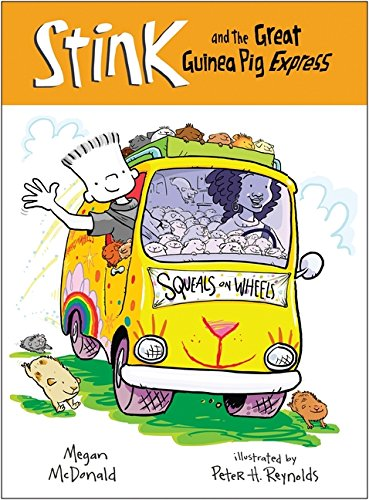 Stink and the Great Guinea Pig Express (Book - Sunglasses Reynolds