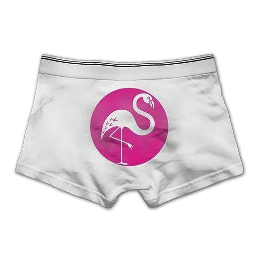 a964a49ebf5dd Flamingo Men's Low-Rise Comfort Soft Underwear Boxer Brief Snug  (White,Medium)