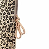 XSKN Yellow 7 inch Leopard's Spots Leopard Print
