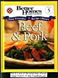 Beef and Pork, Better Homes and Gardens, 1929930054