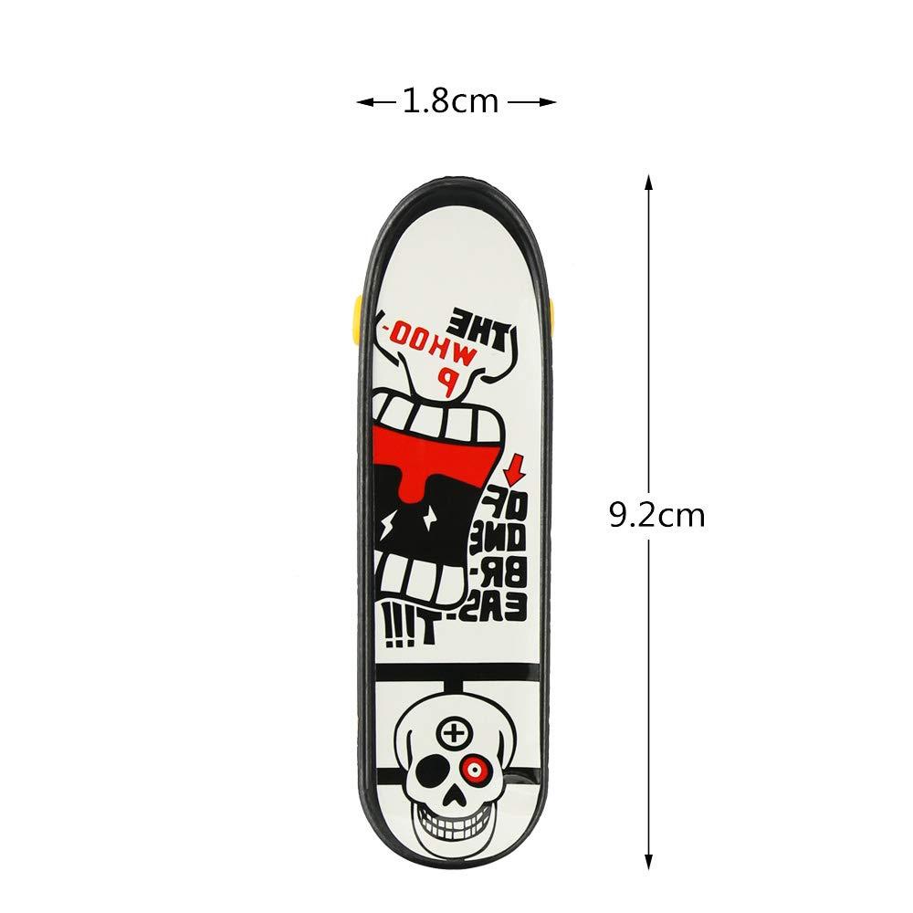 BeautyMood 24 pcs Professional Mini Finger Skateboard, Creative Fingertip Movement for Adults and Children (Random Mode). by BeautyMood (Image #3)