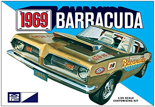 AMT MPC832 1:25 Scale 1969 Plymouth Barracuda Model Kit