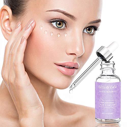51DKPj930qL - Anti Aging Eye Serum, Under Eye Serum for Puffiness, Eye Bags, Dark Circles and Fine Lines, Anti Wrinkle Eye Cream, with Caffeine Under Eye Treatment Serum 30ml