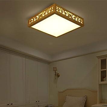 Mm Decoración Lámpara Colgante Lámpara Colgante Iluminación de Cristal Escaleras Luces Luces de Techo Lámpara de Cristal Lámpara de Luz Interior Lámpara de Registro Iluminación de Recámara Cuadrada S: Amazon.es: Bricolaje y