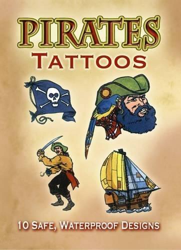 Pirates Tattoos Steven James Petruccio Dover Pubns DOV-40220 9780486402024