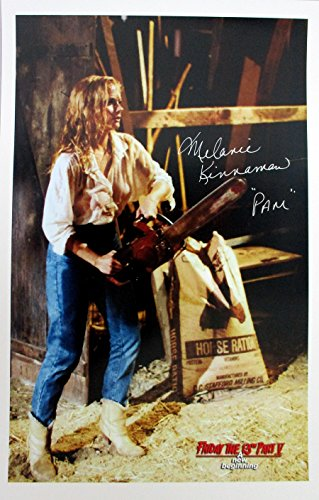 Melanie Kinnaman Hand Signed 11x17 Poster Friday the 13th Part 5: A New Beginning