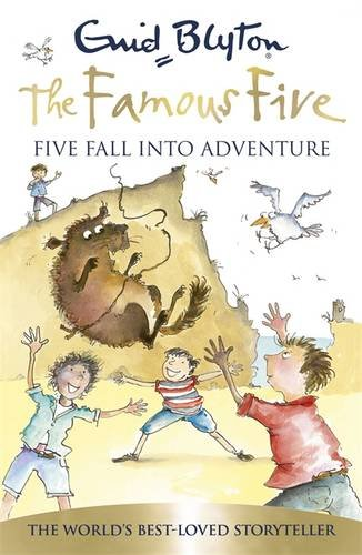 Book cover for Five Fall into Adventure