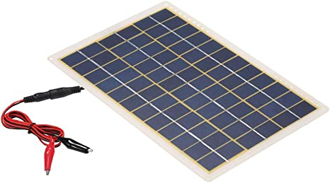 Galapara Solar Módulo DC5V / DC18V 15W Panel Solar USB IP65 Requisitos de Resistencia al Agua para Acampar al Aire Libre Senderismo Escalada Ideal ...