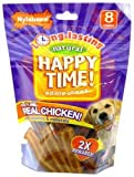 Nylabone Happy Time Dog Chews, 8-Pack, My Pet Supplies