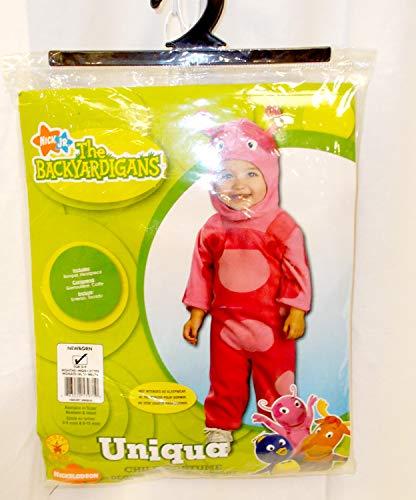Rubies Nickelodeon Backyardigans Uniqua Jumpsuit Costume Newborn 0-9 M
