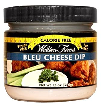 Walden Farms Bleu Cheese Dip Calorie Free, Carb Free, Fat Free, Sugar Free