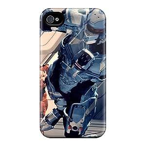 Iphone 4/4s SQf4149TXcc Custom Stylish Strat Wars Series Shock Absorption Cell-phone Hard Covers -KellyLast