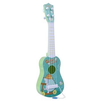 12che Guitarra Infantil, 41 cm, 4 Cuerdas, Juguete para niñas y ...