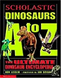 img - for Scholastic Dinosaur A To Z book / textbook / text book